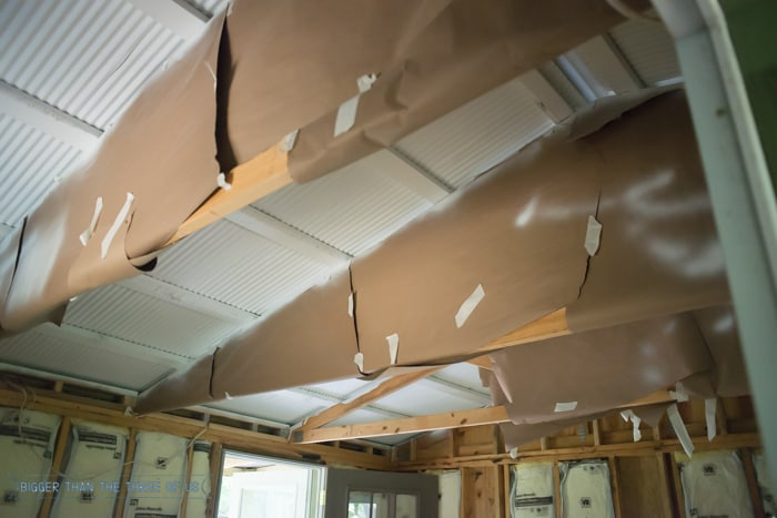 Building Walls and Finishing the Ceiling
