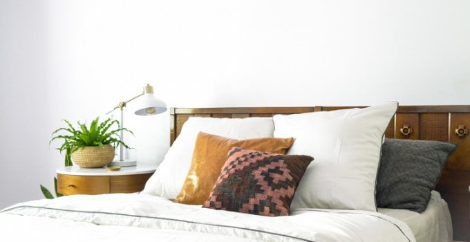 Switching Gears in The Master Bedroom with Bedding