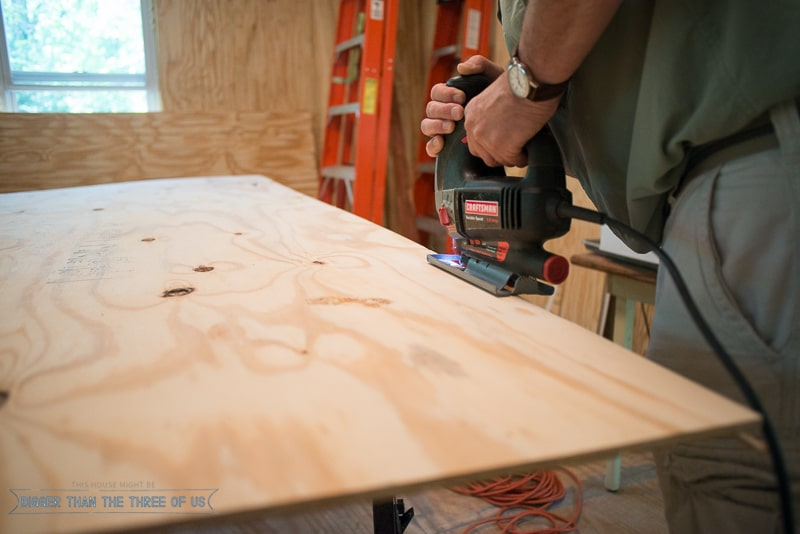 How to Install Paneling Without It Looking Like the 1970s!-6
