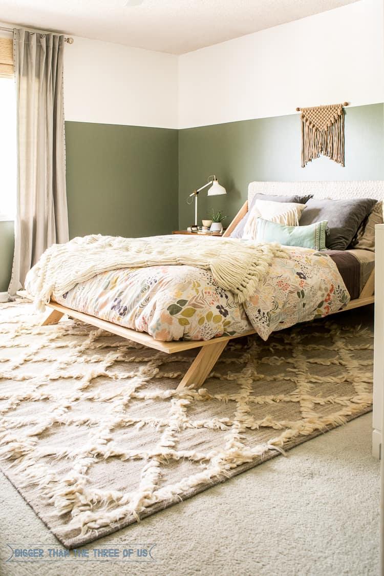 Boho Modern Eclectic Guest Bedroom