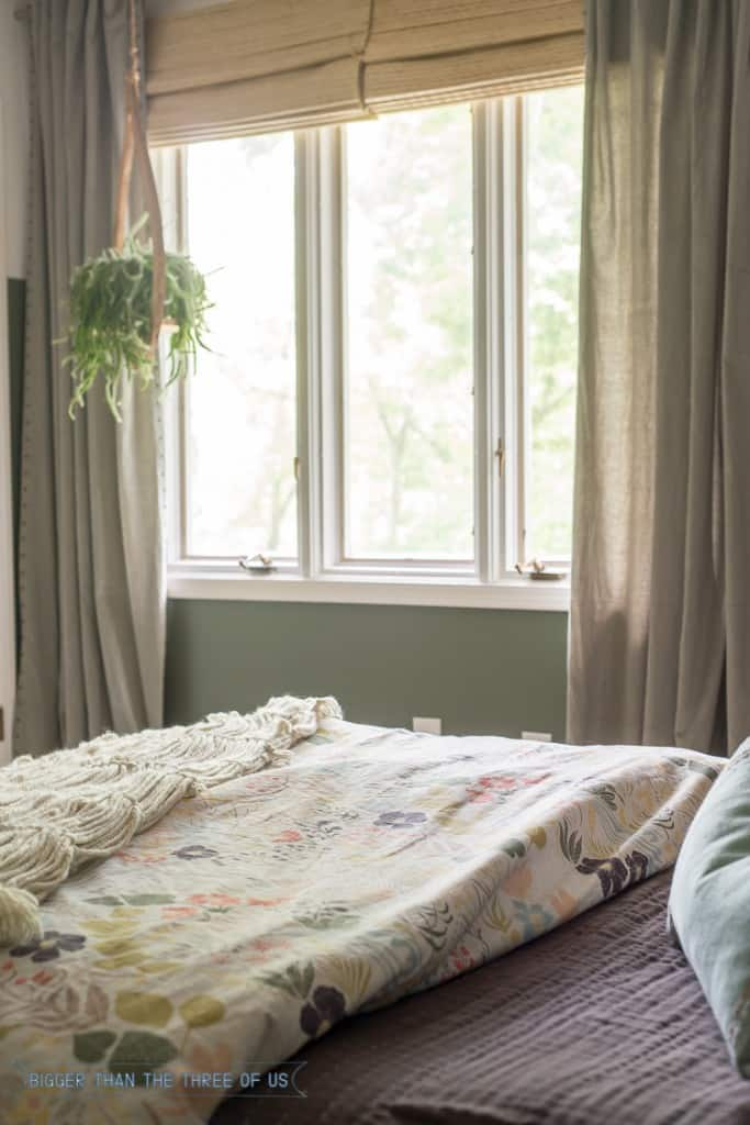 Adding texture for a bedroom
