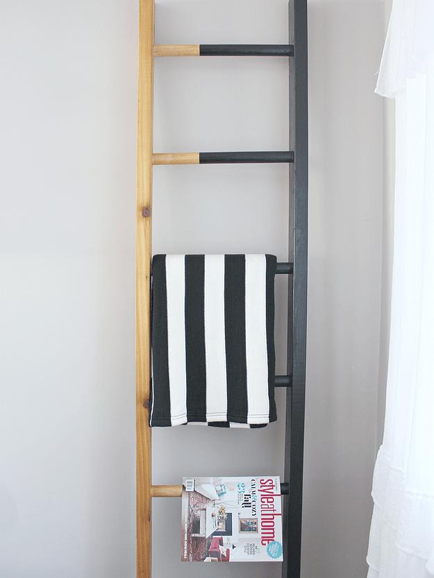 tutorial for a magazine rack