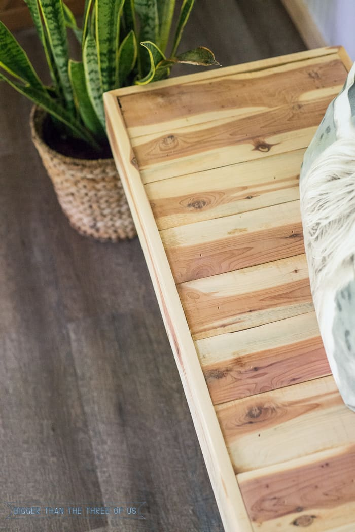 Rustic Modern Diy Wood Bench With Hairpin Legs