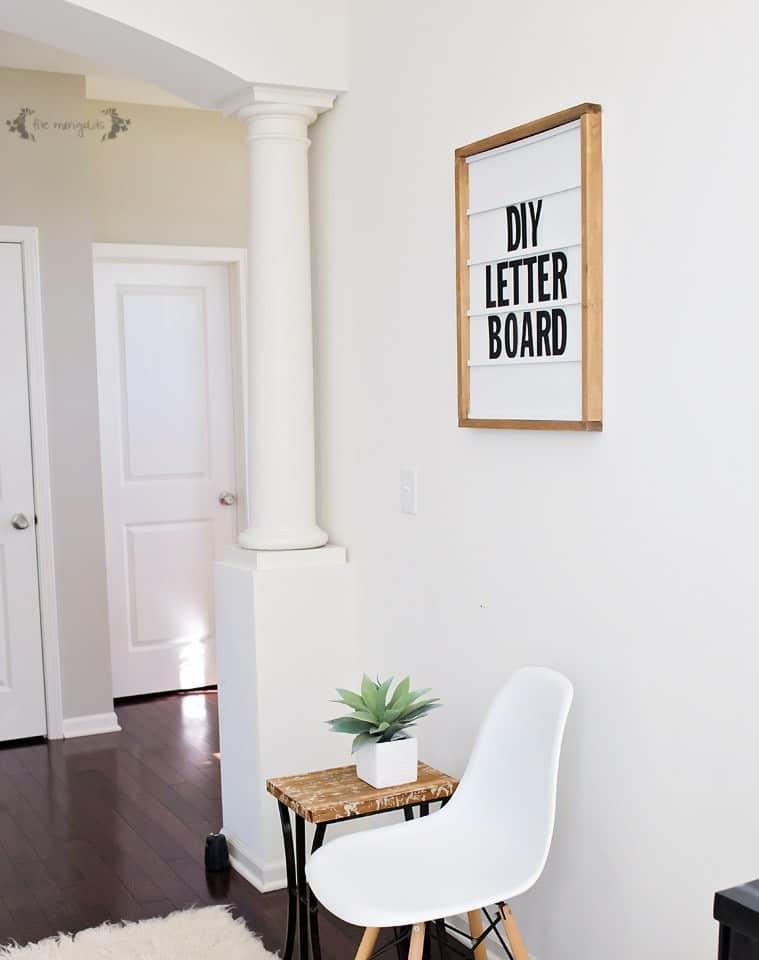 DIY Letterboard