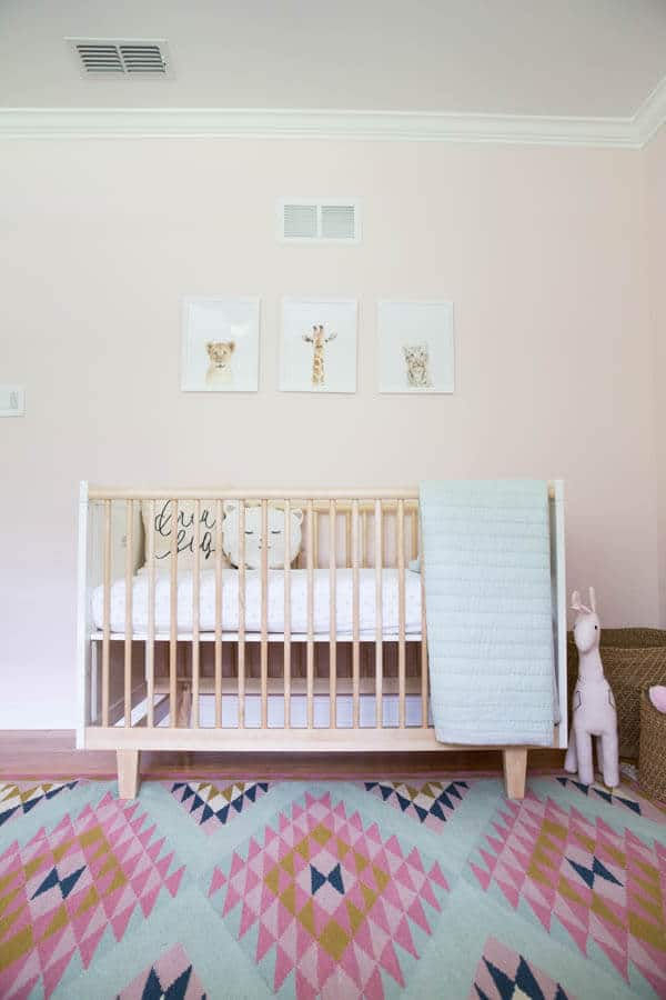 Adorable aztec nursery reveal