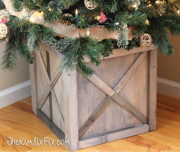 christmas tree box diy tutorial
