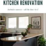 Budget friendly kitchen renovation image