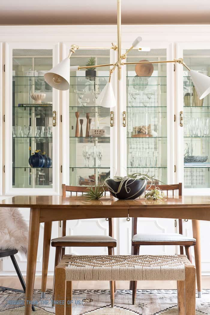 Eclectic Yet Casual Formal Dining Room With Boho Touches