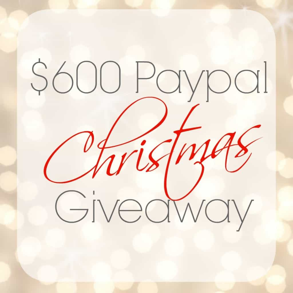 $600 giveaway perfect for Christmas