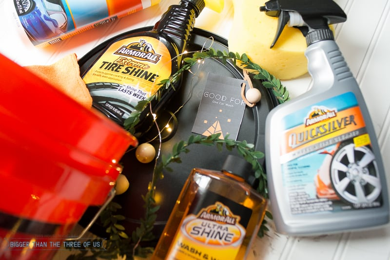 Car wash christmas idea with free printable coupons