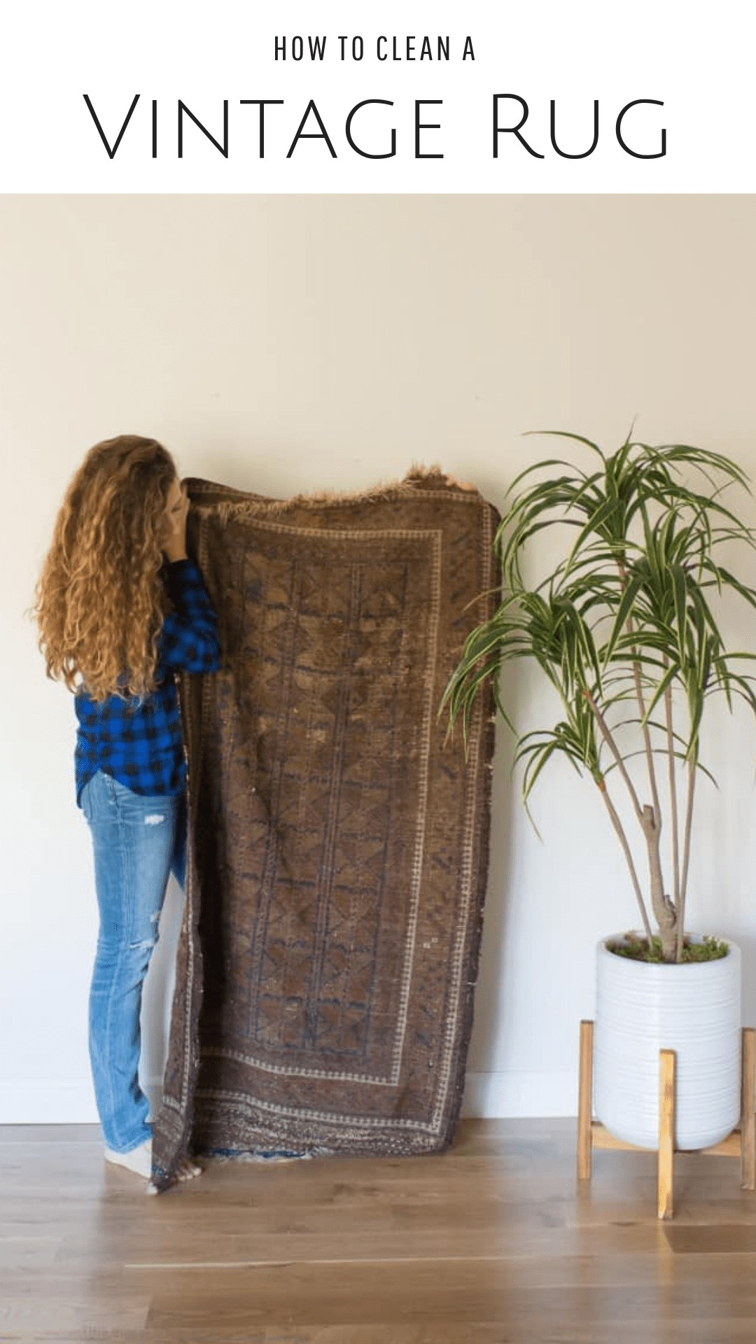 Rug cleaning at home