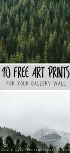Free Arts Prints for Your Gallery Wall