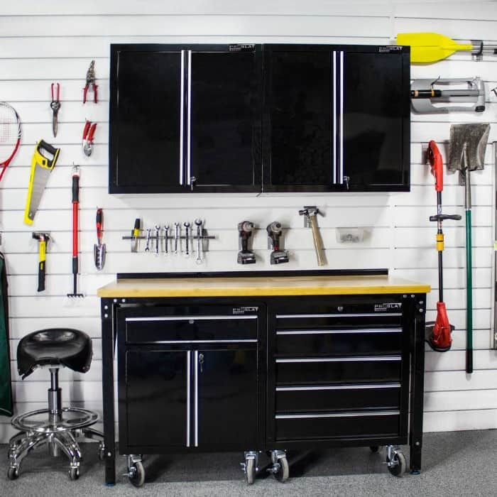 How to clean your garage so that you can park in it!