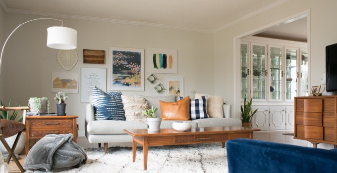 Ever-Changing Modern and Bright Living Room