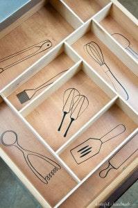 Amazing kitchen organizing idea