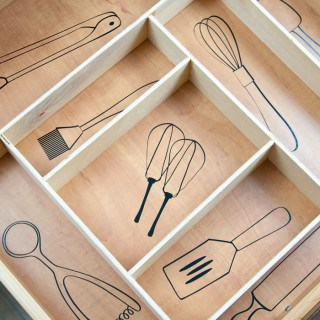 Amazing kitchen organizing idea