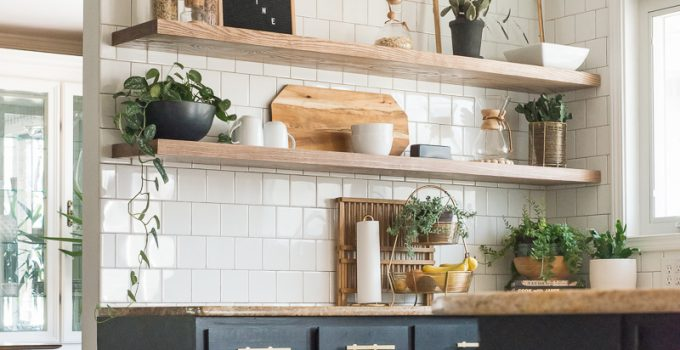 The Ugly Truths :: How I Cut Corners with the Kitchen Shelving