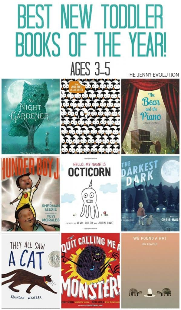 Best Toddler Books of the Year