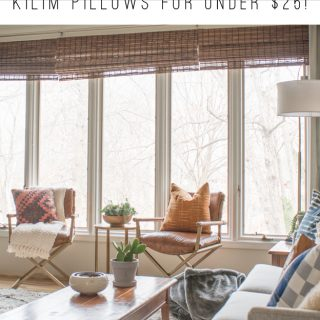 Where To Buy Affordable Kilim Pillows for Under $25