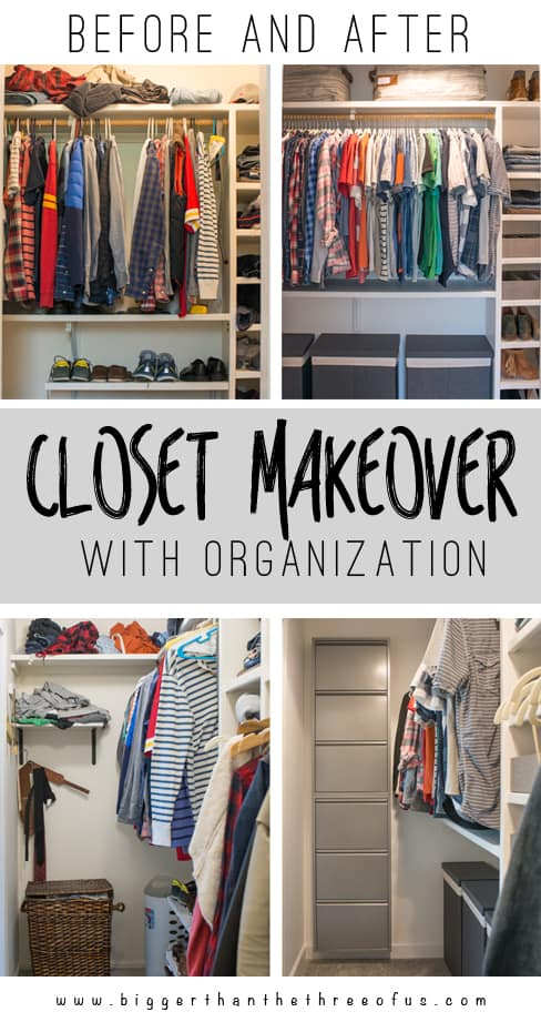 Check Out This Before And After Closet Makeover With Tons Of Organization!