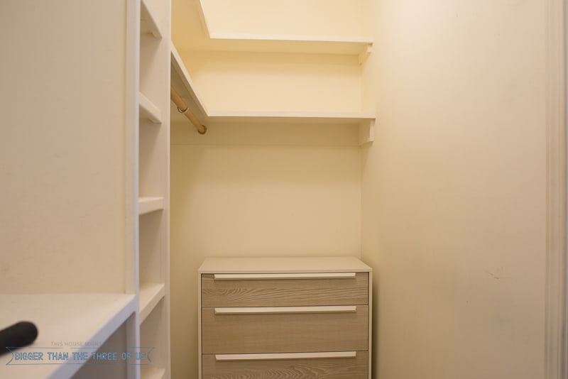The closet makeover (All the BEFORES)