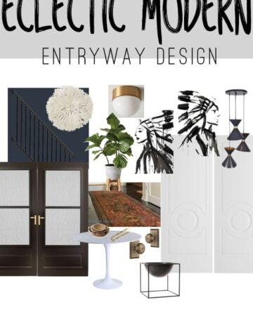 Entryway Makeover Design Plan