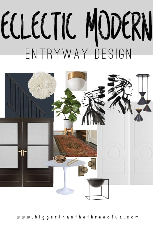 Entryway Makeover Design Plan