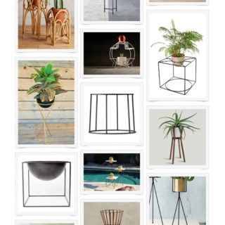 Shop this round-up for modern plant stands!