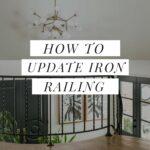 Wrought iron railing update