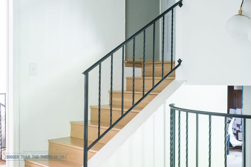 How To Modernize Stair Railings