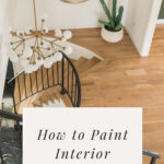 how to paint interior stair railing