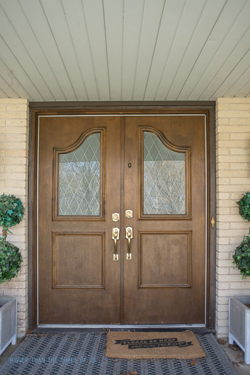 Install And Enlarge Gl In Exterior Doors Or Replace Our Dilemma