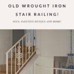 grinding iron railing