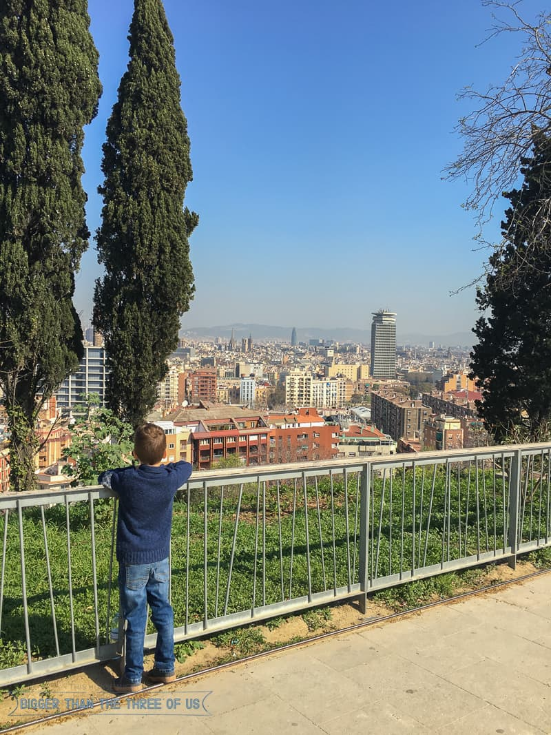 Cable Car and Castle (Castillo De Montjuic and Teleferic de Montjuic) :: Kid-Friendly Things to Do In Barcelona