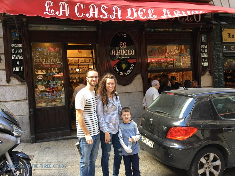Traveling to Madrid with a Kid-1