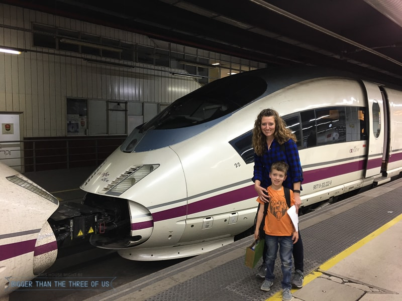 Traveling to Madrid with a Kid