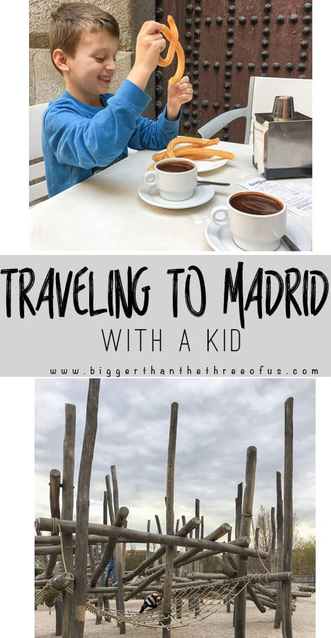 Traveling to Madrid with a Kid? Use this guide for a place to stay, restaurant recommendations and things to do!