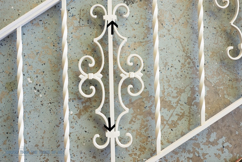 Wrought Iron handrail project DIY