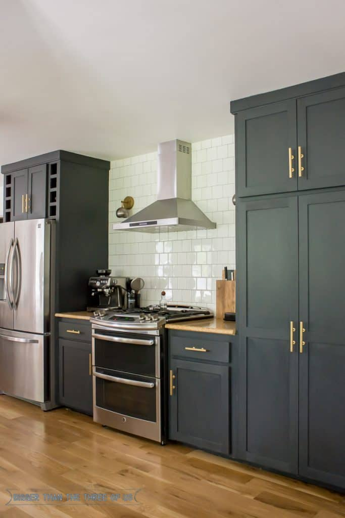 DIY Kitchen Renovation : Includes making kitchen cabinet doors, buying kitchen cabinet door fronts and the cost for it all