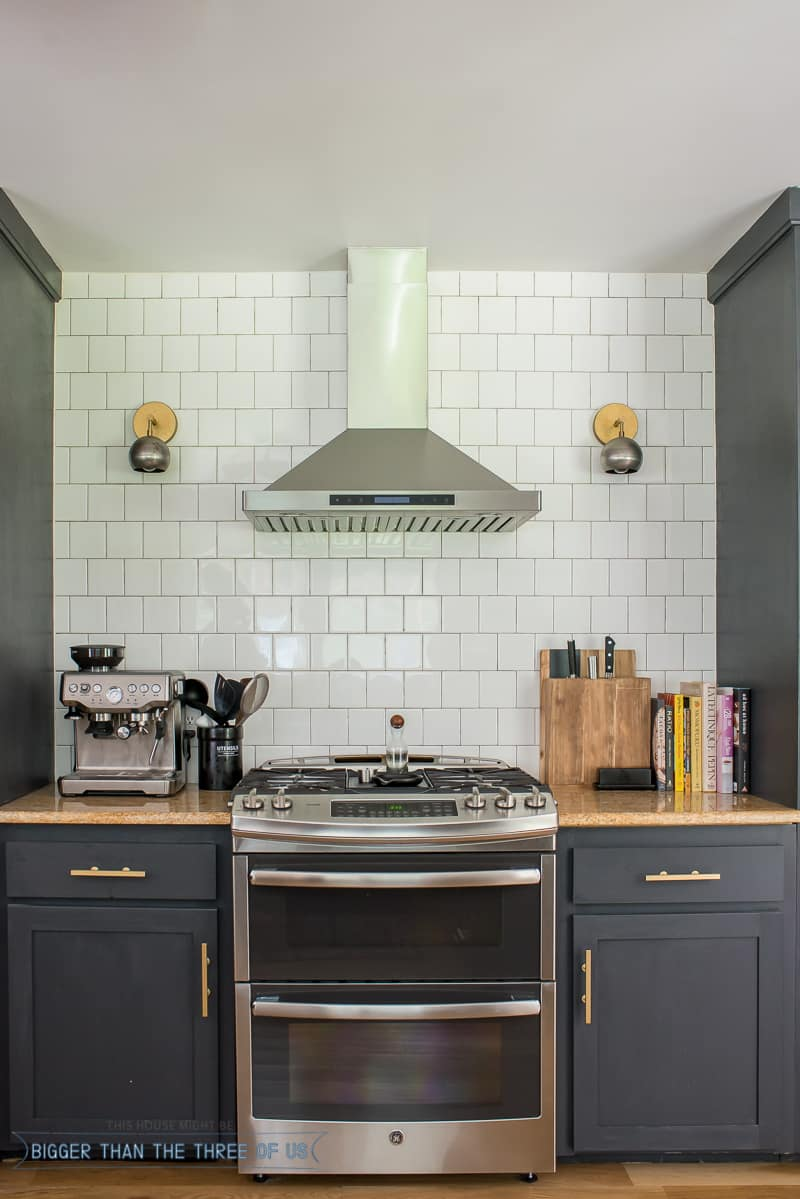 DIY Kitchen Renovation : Kitchen Updates-- Including How We Use (+Love) Open Shelving