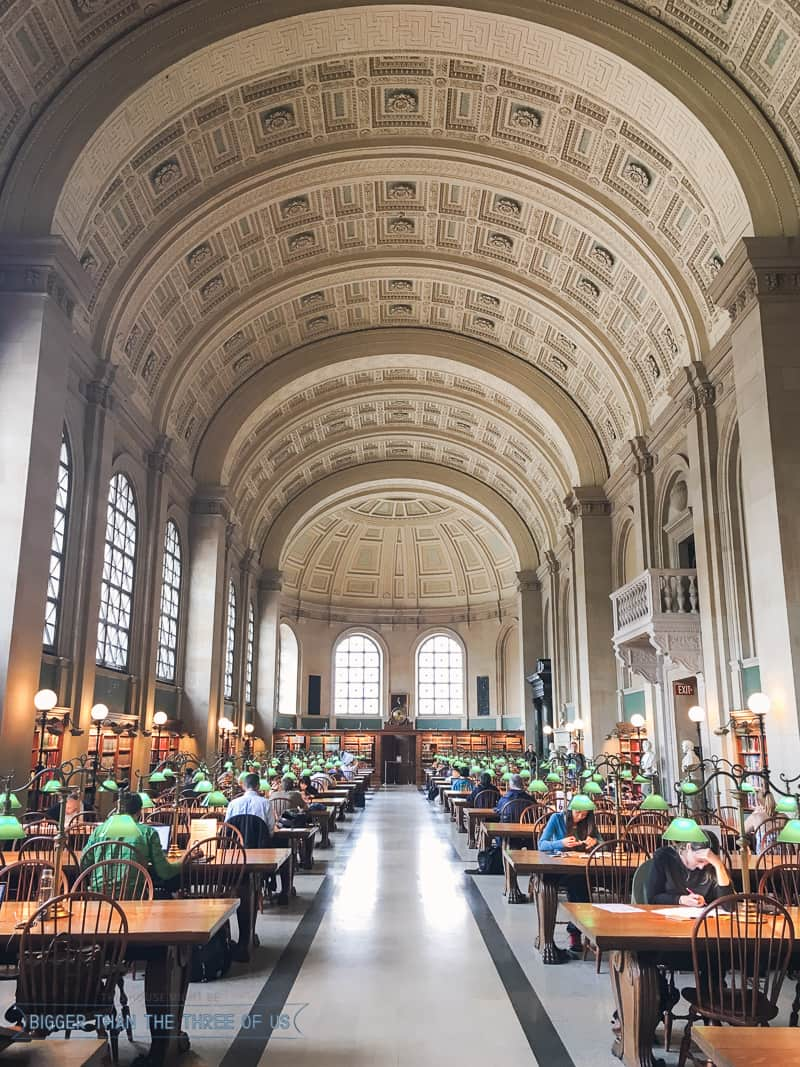 3 Days in Boston -- Where to Eat and What to See-Boston Public Library