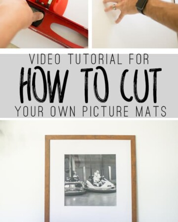 Save lots of money by cutting your own pictures mats! Use this video tutorial to learn how to cut your own picture mats!