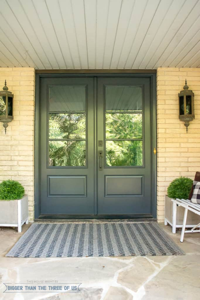 Fall Front Porch Ideas Bigger Than The Three Of Us - Front porch makeover ideas