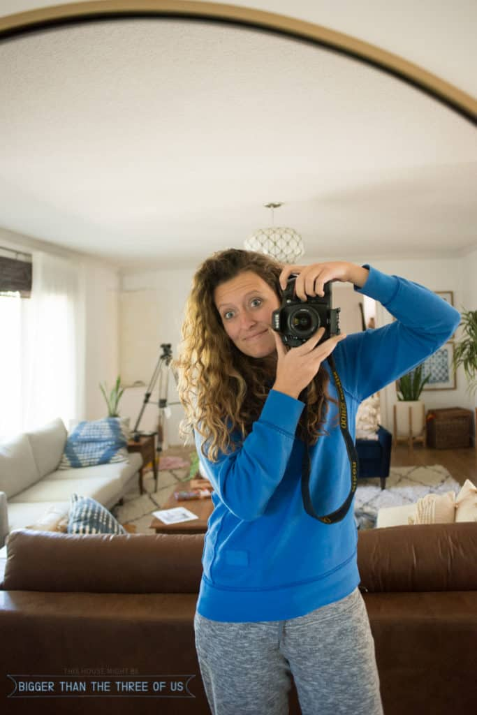 No makeup Home Tour - Come over and see my home as it is most days - unstyled and real!