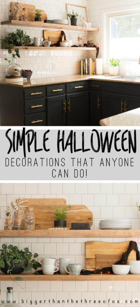 Simple Halloween Decorations That Anyone Can Do. #halloweendecor