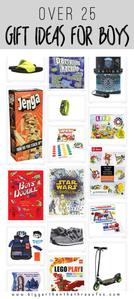 Christmas Gift Guide for boys : What to buy a boy ages 6-10!