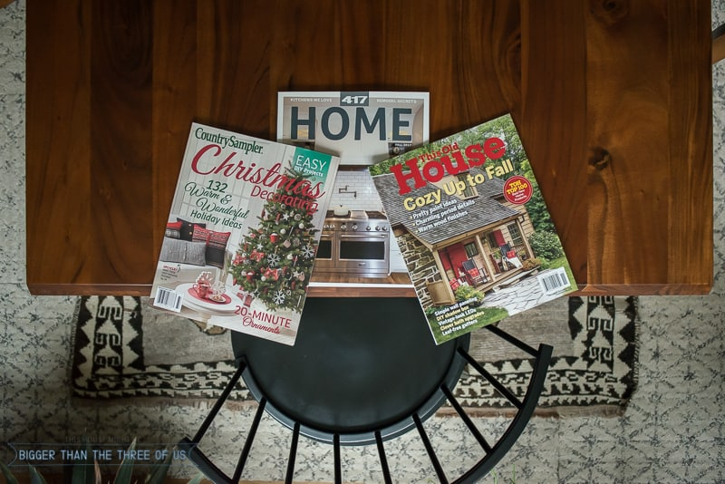 417 Home, Country Sampler, This Old House Magazine Features
