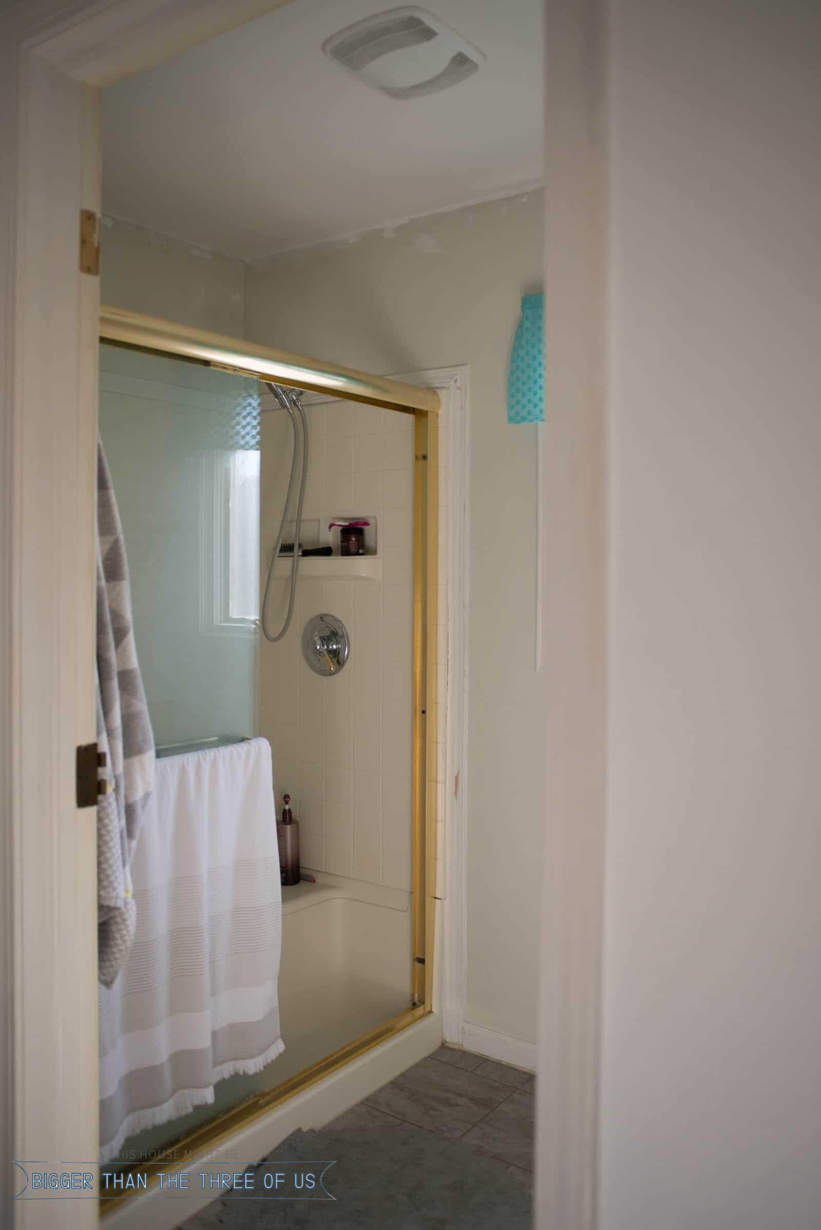 Small Master Bathroom Makeover
