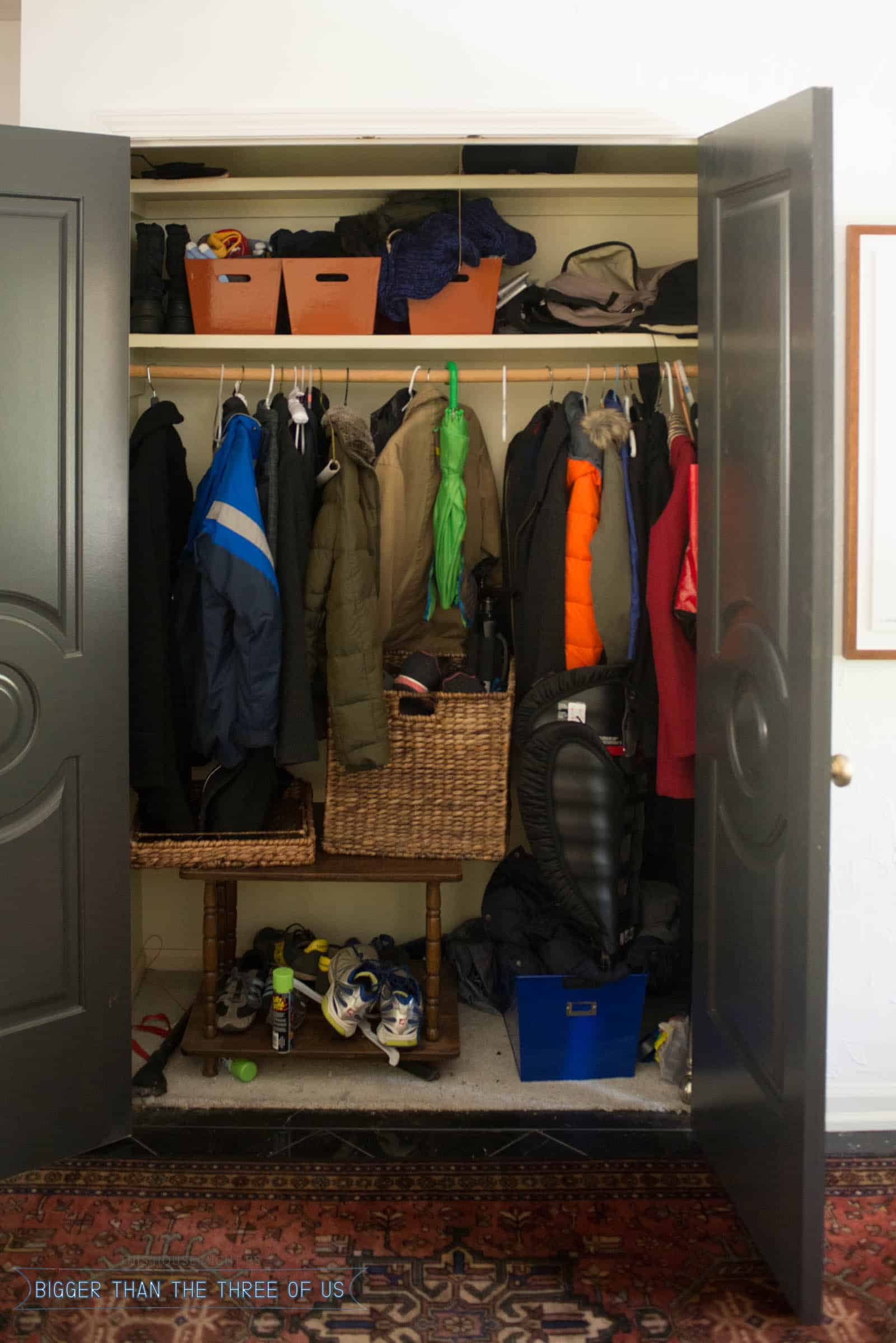 Organization in the Entryway
