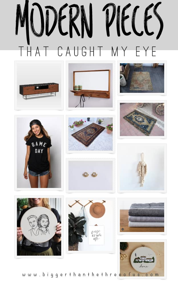 Caught My Eye: Modern Pieces that Caught My Eye This Month